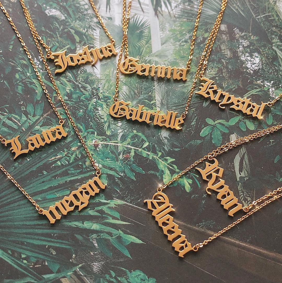 38+ Letter m necklace rose gold inspirations
