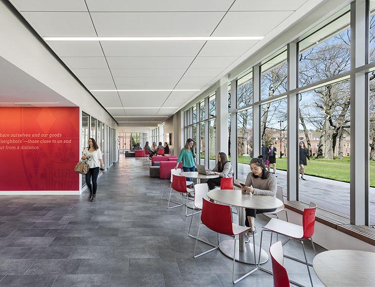 Regis College Maria Hall Sasaki Corporate interiors