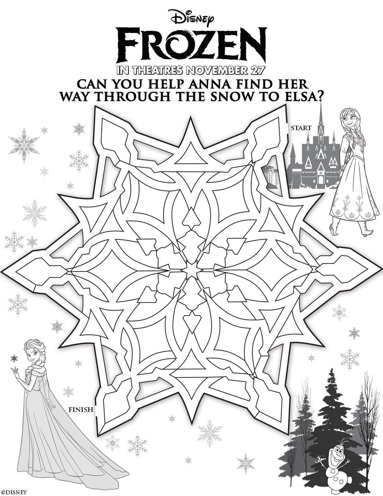 Disney S Frozen Printables Coloring Pages And Storybook App Frozen Coloring Frozen Coloring Pages Frozen Theme Party