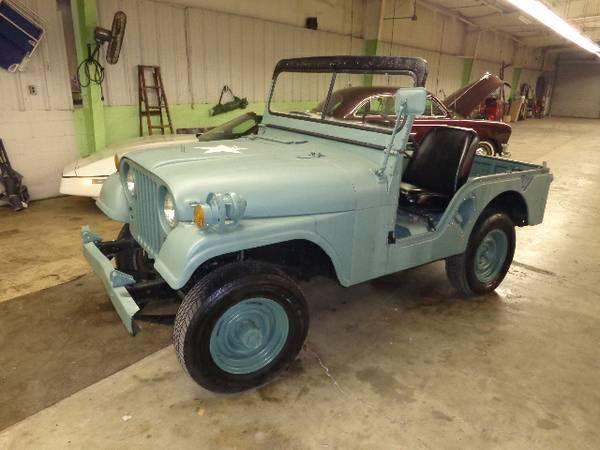 1954 WILLYS CJ M38A1 JEEP | Cars trucks, Classic cars, Jeep