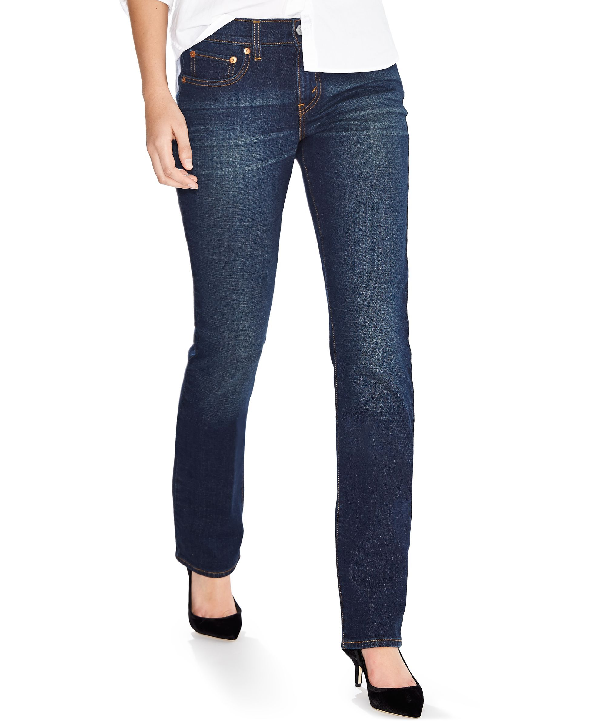 95f14e57851 Levi's 414 Relaxed-Fit Straight-Leg Jeans, Lost Creek Wash ...