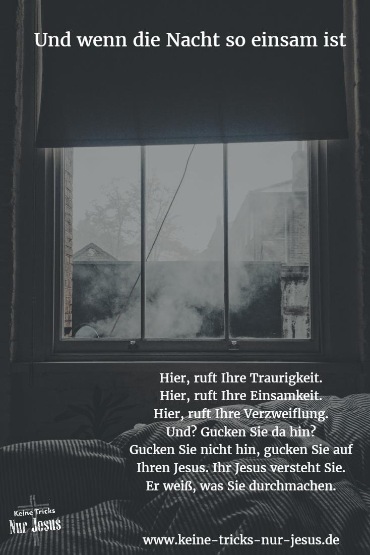 Sich als Christ einsam fühlen