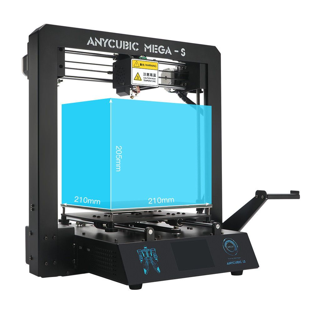 Anycubic I3 Mega S 3d Printer Upgraded 3 5tft With Titian Extruder Pla Tpu Us With Images 3d Printer Kit 3d Printer Printer