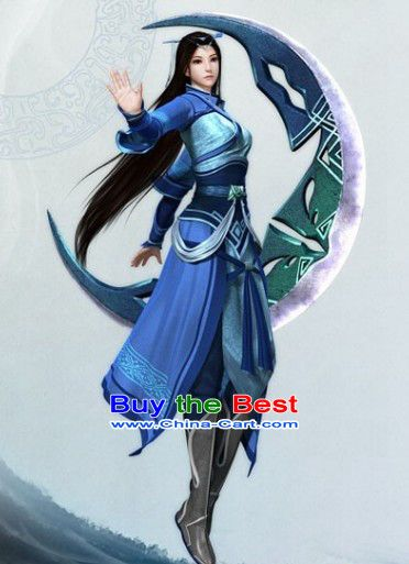 Ancient Chinese Swordsman Knight Cosplay Costumes