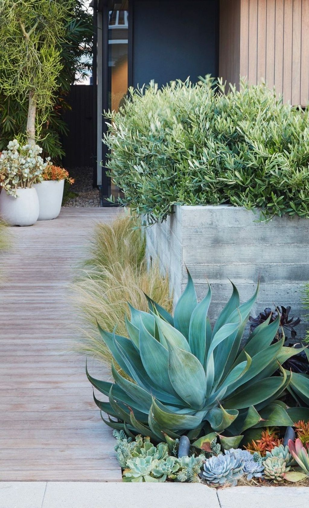 39 Affordable Low Water Garden Landscapes Design Ideas That Looks Amazing is part of Low water gardening, Succulent garden design, Low water landscaping, Dry garden, Succulent landscaping, Garden landscape design - Water gardens are one of the most attractive kinds of gardens  Aside from the plants around it, the fishes swimming …