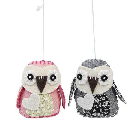 Felt Craft Pretty Owls