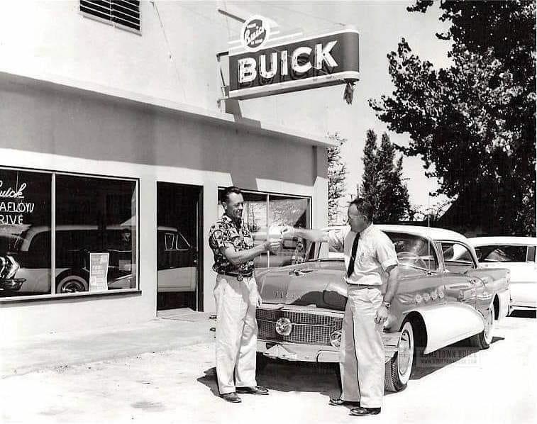 1955 Buick Dealership Buick Cars Car Dealership