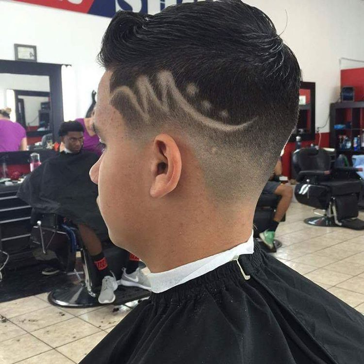 Dope Fade Hair Designfade Haircut Designs Fade Haircut Designs