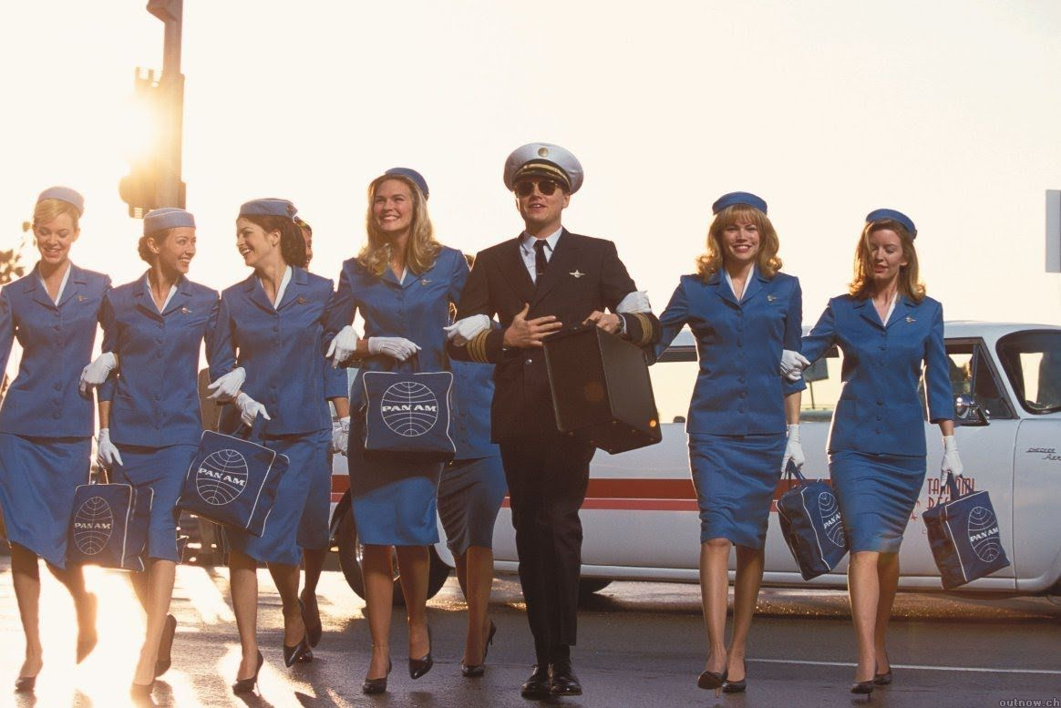 Catch Me If You Can Movie Scene Leonardo Dicaprio Filming Notes Included Kino