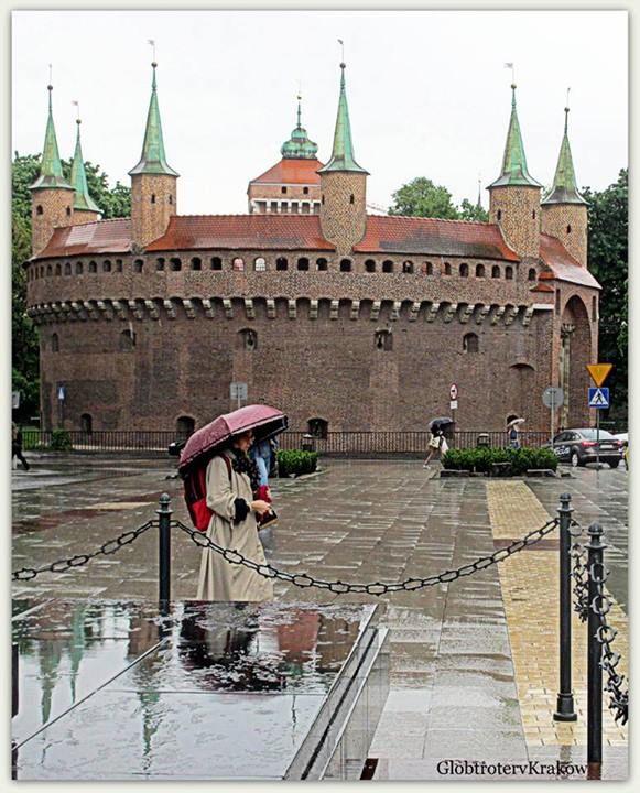 rainy Cracow
