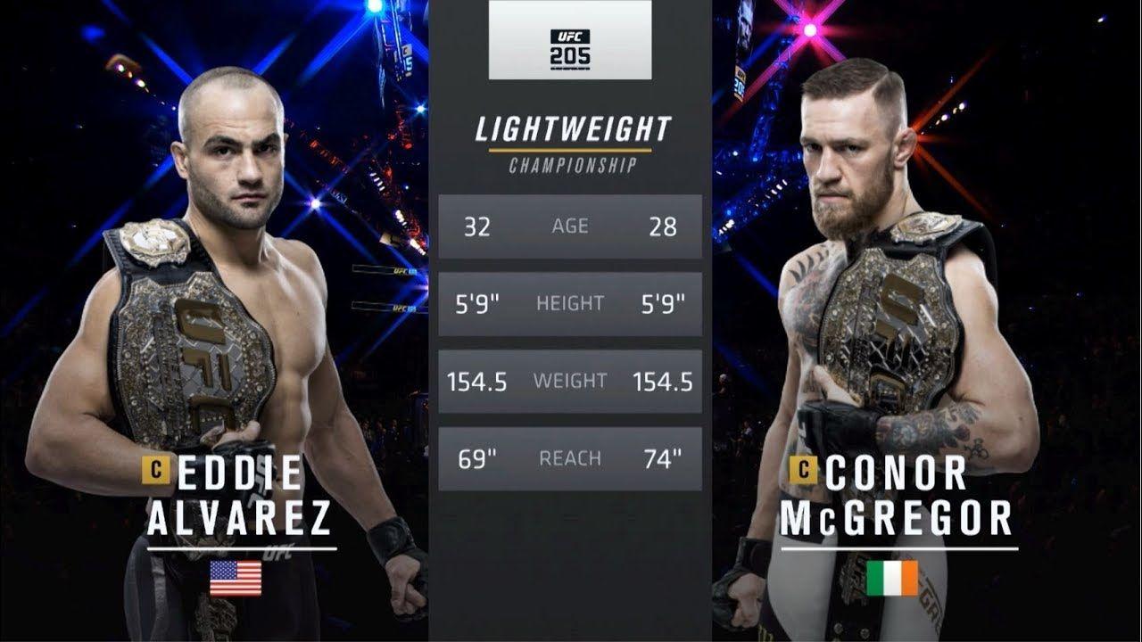 Ufc 246 Free Fight Conor Mcgregor Vs Eddie Alvarez In 2020 Ufc Conor Mcgregor Fight Floyd Mayweather Training