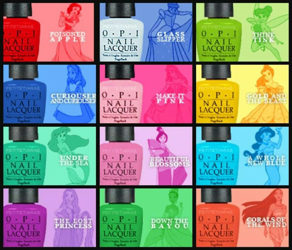 Disney Princess inspired nail polish- why didn\'t I know about this ...