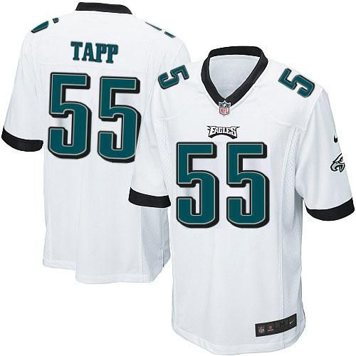 57.76 youth nike; nike nfl philadelphia eagles 55 darryl tapp limited youth  white road jersey sale