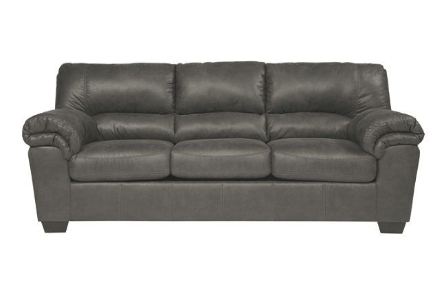 Bladen Slate Grey Couch Upholstered Sofa Slate Sofa