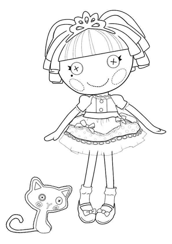 Top 20 Lalaloopsy Coloring Pages Your Toddler Will Love Coloring Books Lalaloopsy Coloring Pages
