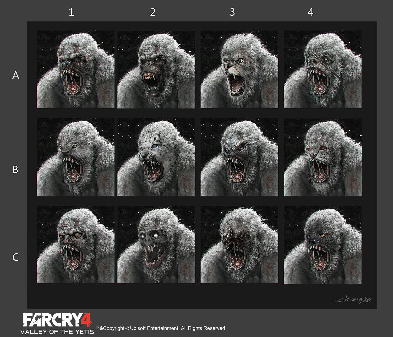 Artstation Far Cry 4 Dlc Valley Of The Yetis Concept Art Xu
