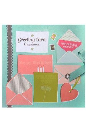 Ktwo Greeting Card Organiser Http Www Littlewoods Com Ktwo Greeting Card Organiser 1217680332 Prd Greeting Card Organizer Card Organizer Birthday Cards