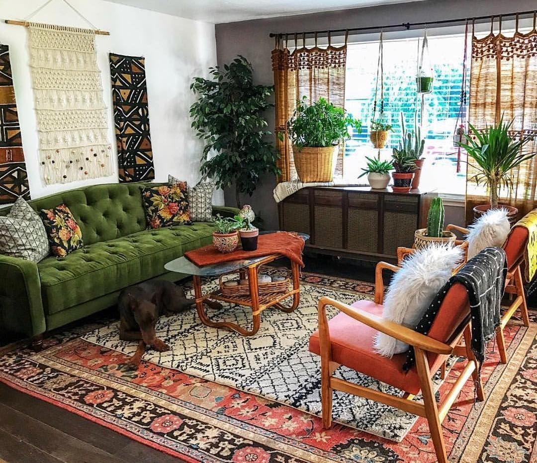 Eclectic Boho Decor Boho Living Room Living Room Designs