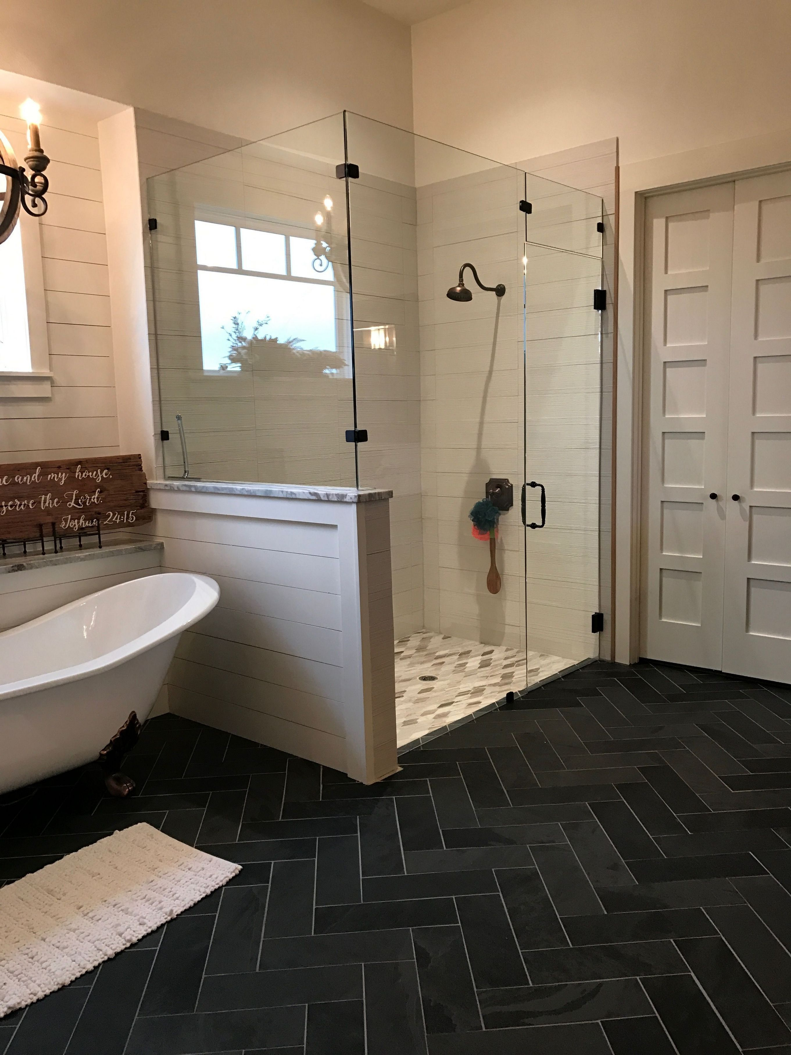 Want Your Shower Is Greater Than Simply There For Feature See Terrific Bathroom Shower Rem Bathroom Remodel Master Farmhouse Master Bathroom Bathrooms Remodel