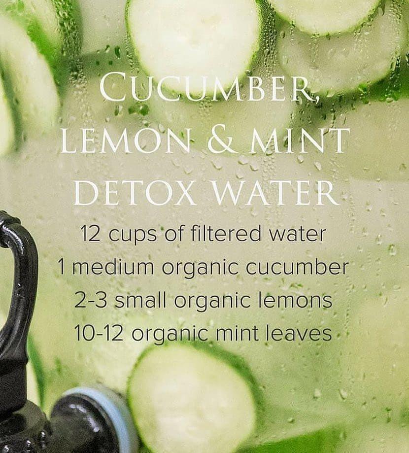 "LeanBelly Tea on Instagram: ""Detox water for clear skin & healthy intestines! 😁 . . . #vegan #plantb..."