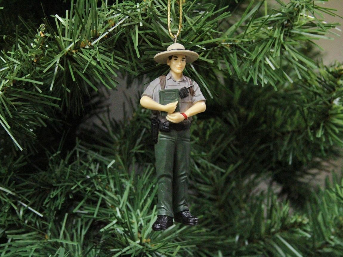 You are buying a new National Park Ranger Christmas