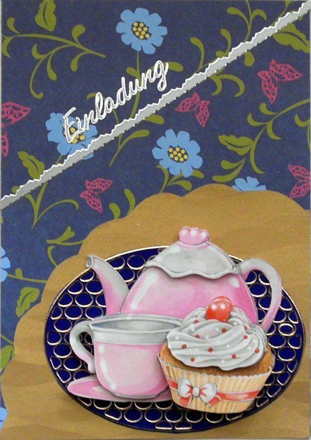 Einladung Zu Kaffee Und Kuchen 3 Karten Pinterest