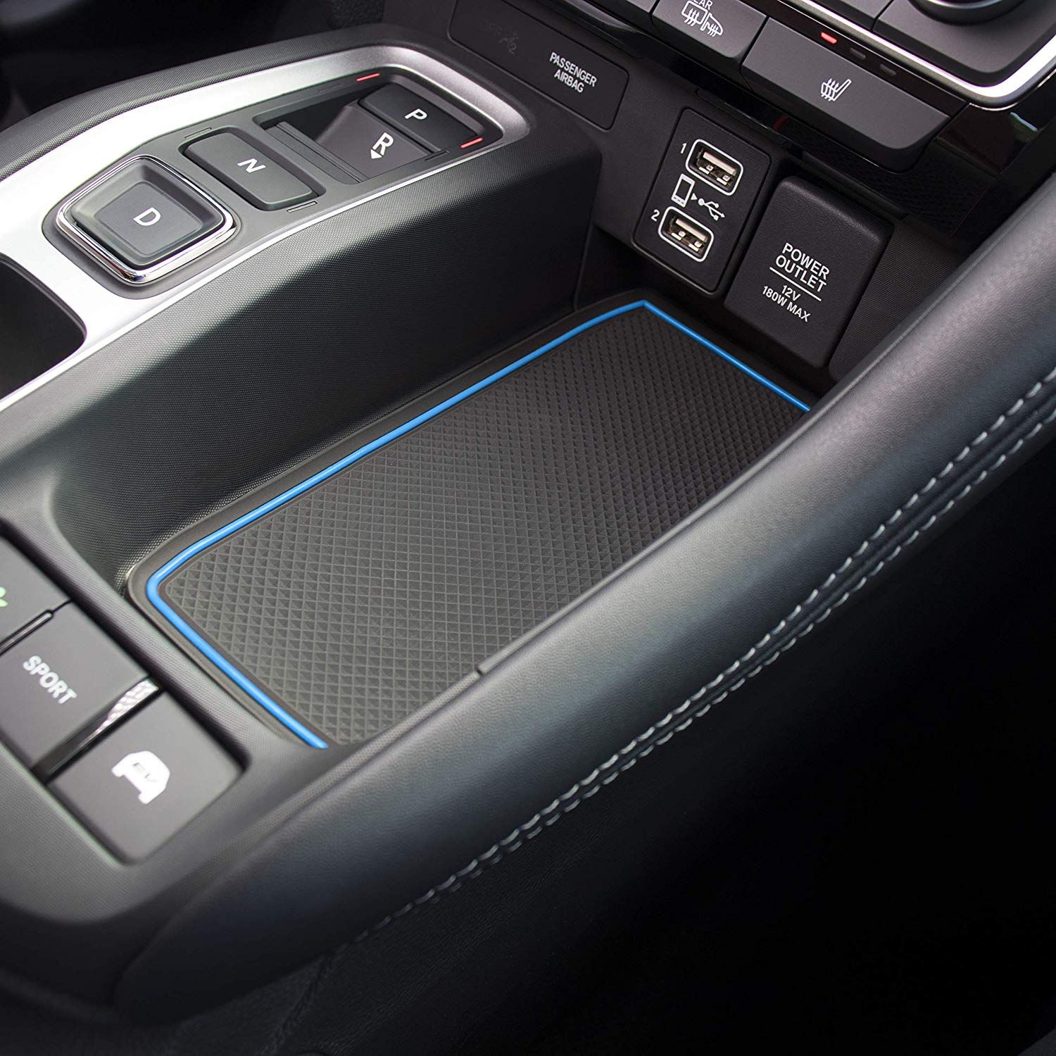 Custom Fit Cup Door Center Console Liner Accessories for