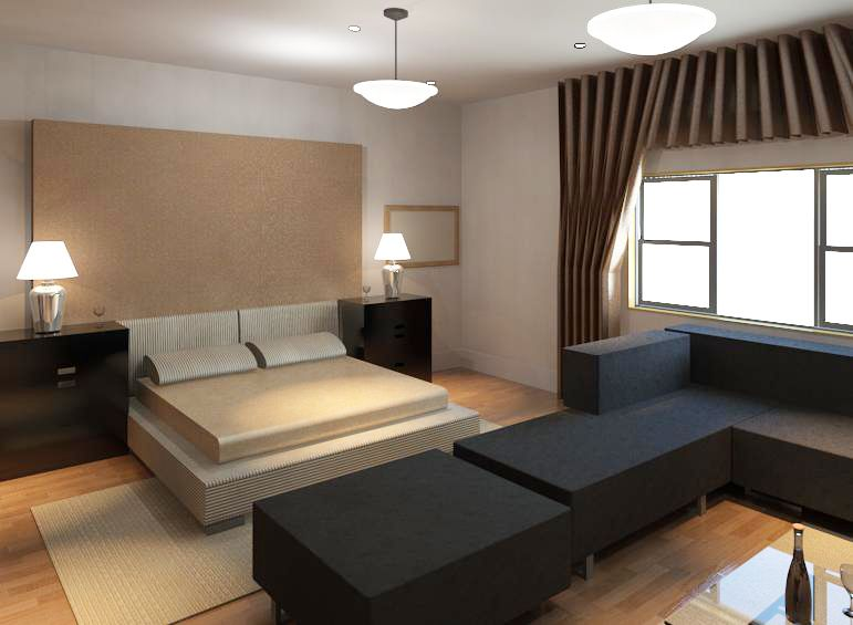 Best Bedroom Revit Furniture Home Decor Floor Chair 400 x 300