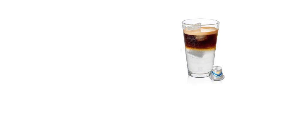 Iced Long Black Coffee Iced Coffee Capsule Nespresso