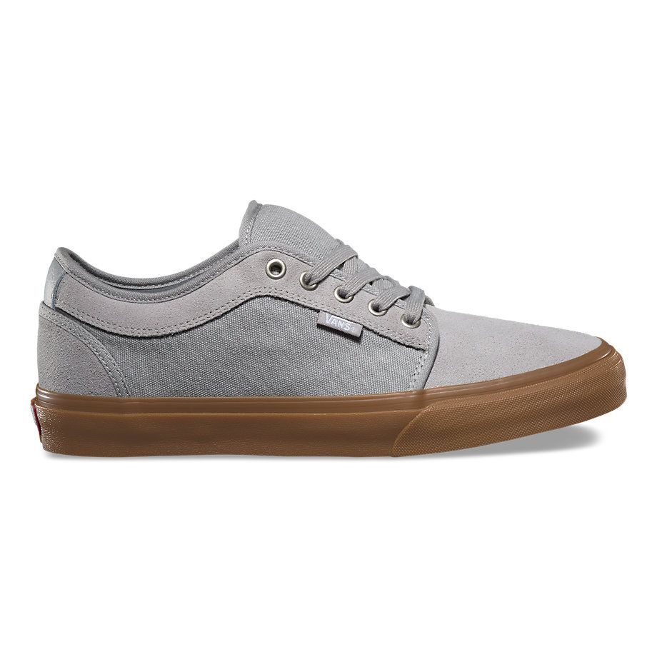 Chukka Low by Vans in Drizzle/Gum