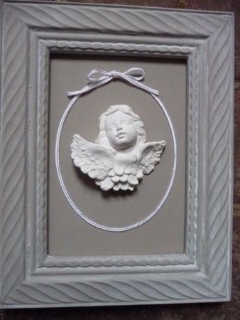 ange encadré Pour inspiration Pinterest Anges, Cadres et Platre