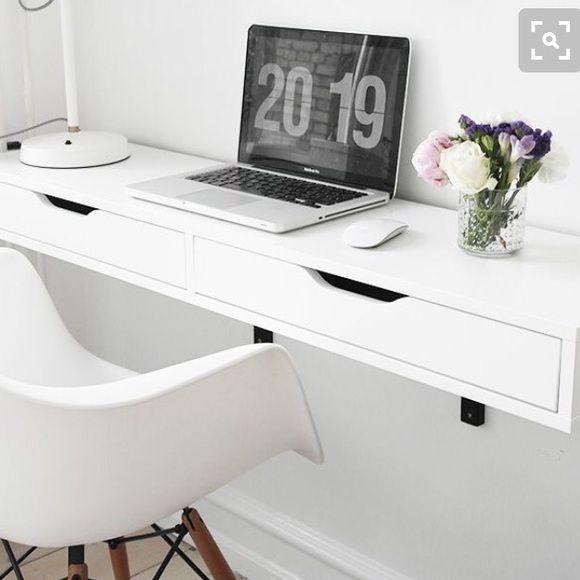 Enjoyable Ikea Other Ikea Alex Desk Shelf Desks For Small Spaces Theyellowbook Wood Chair Design Ideas Theyellowbookinfo