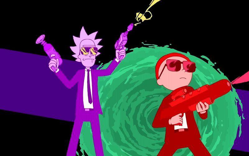 Rick And Morty Tv Show Cartoon Cartoon Wallpaper Rick And Morty Image Run The Jewels