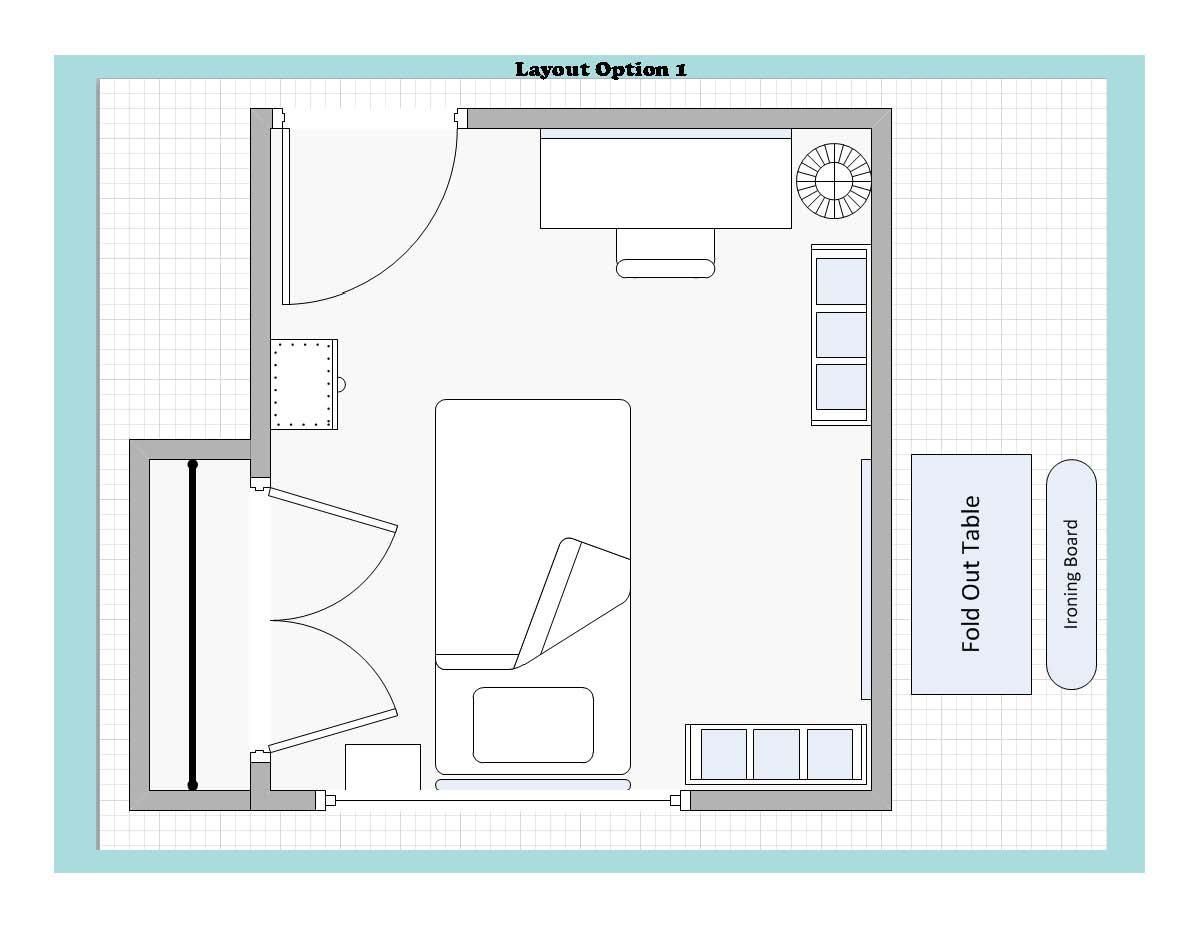 Craft room ideas and layouts craft room challenge for Room design challenge