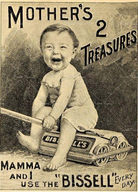 Vintage Sweeper Ad