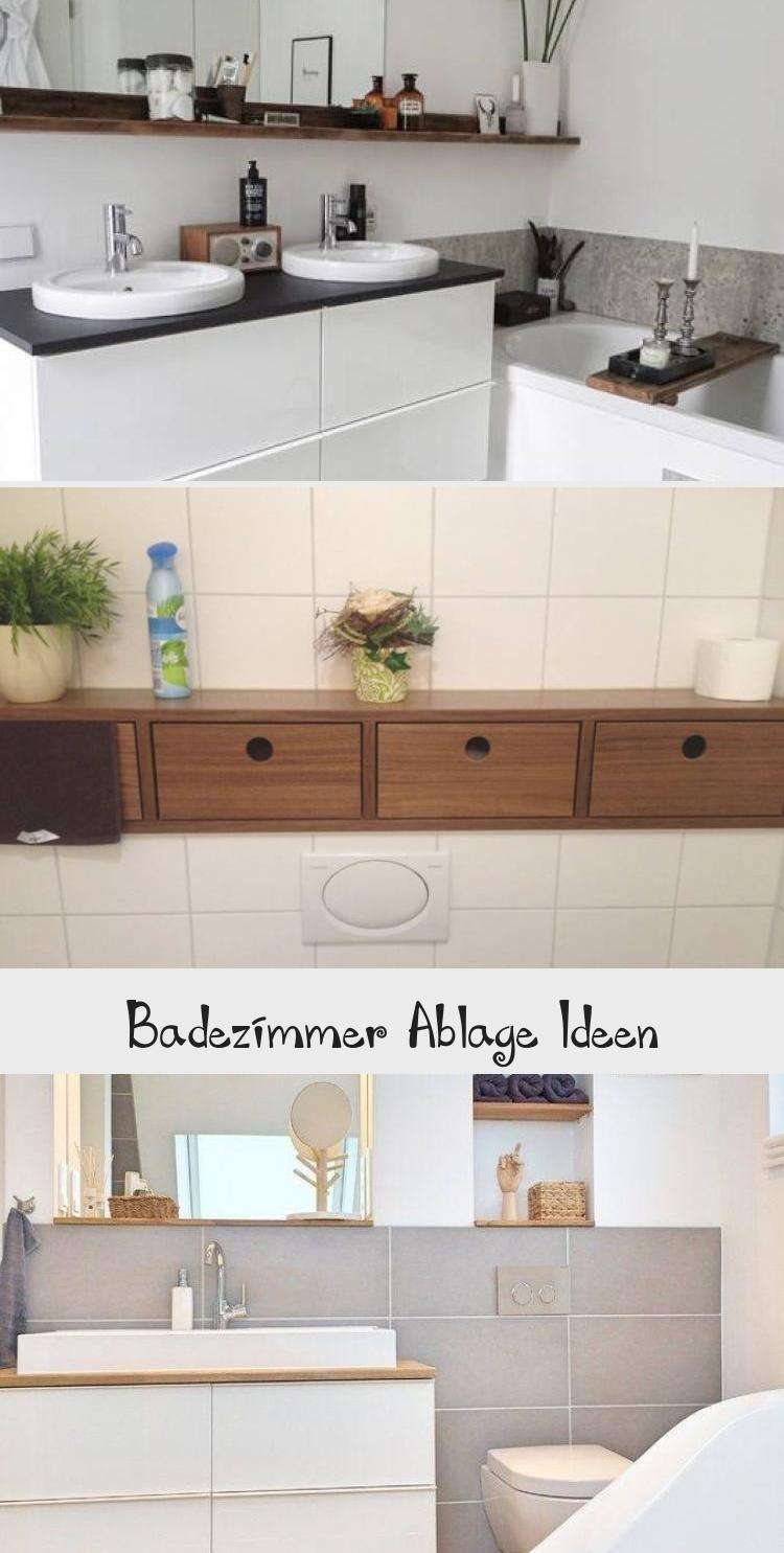 Badezimmer Ablage Ideen  Vanity, Double vanity, Bathroom vanity