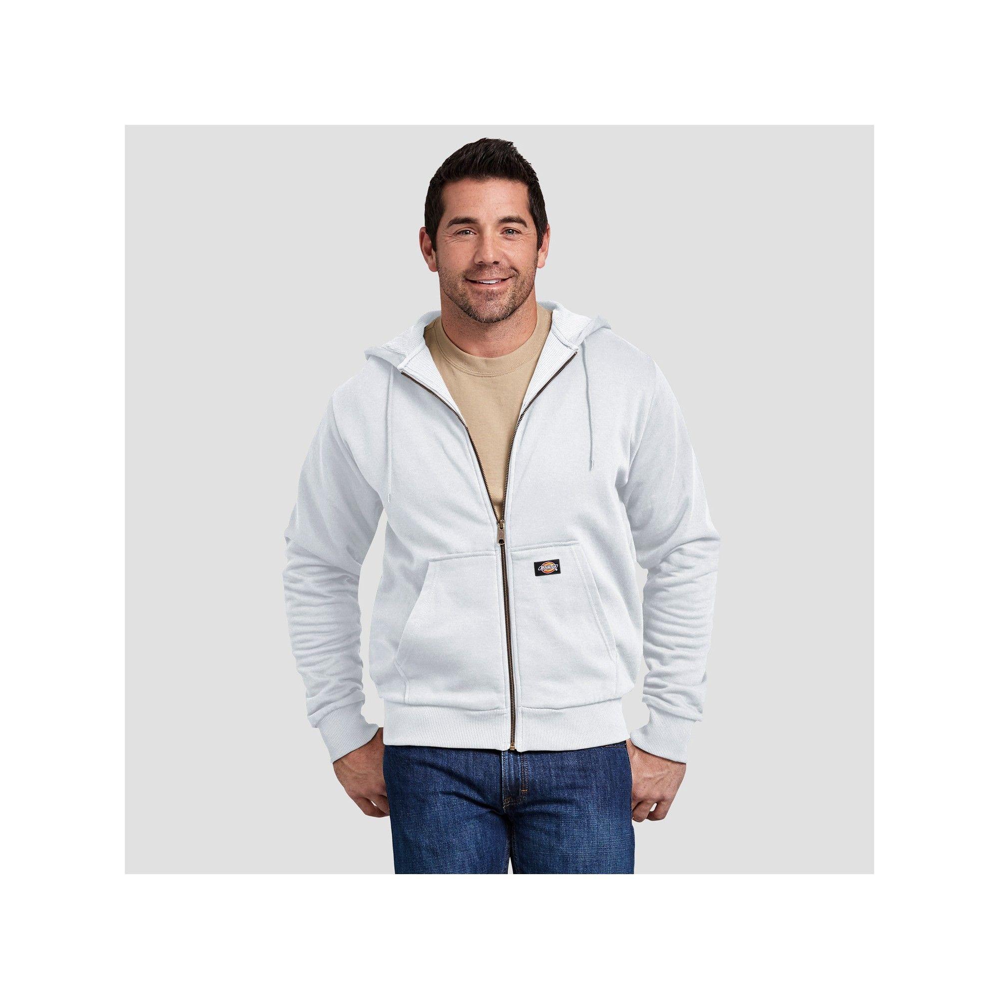 Dickies Mens Thermal-Lined Fleece Hoodie