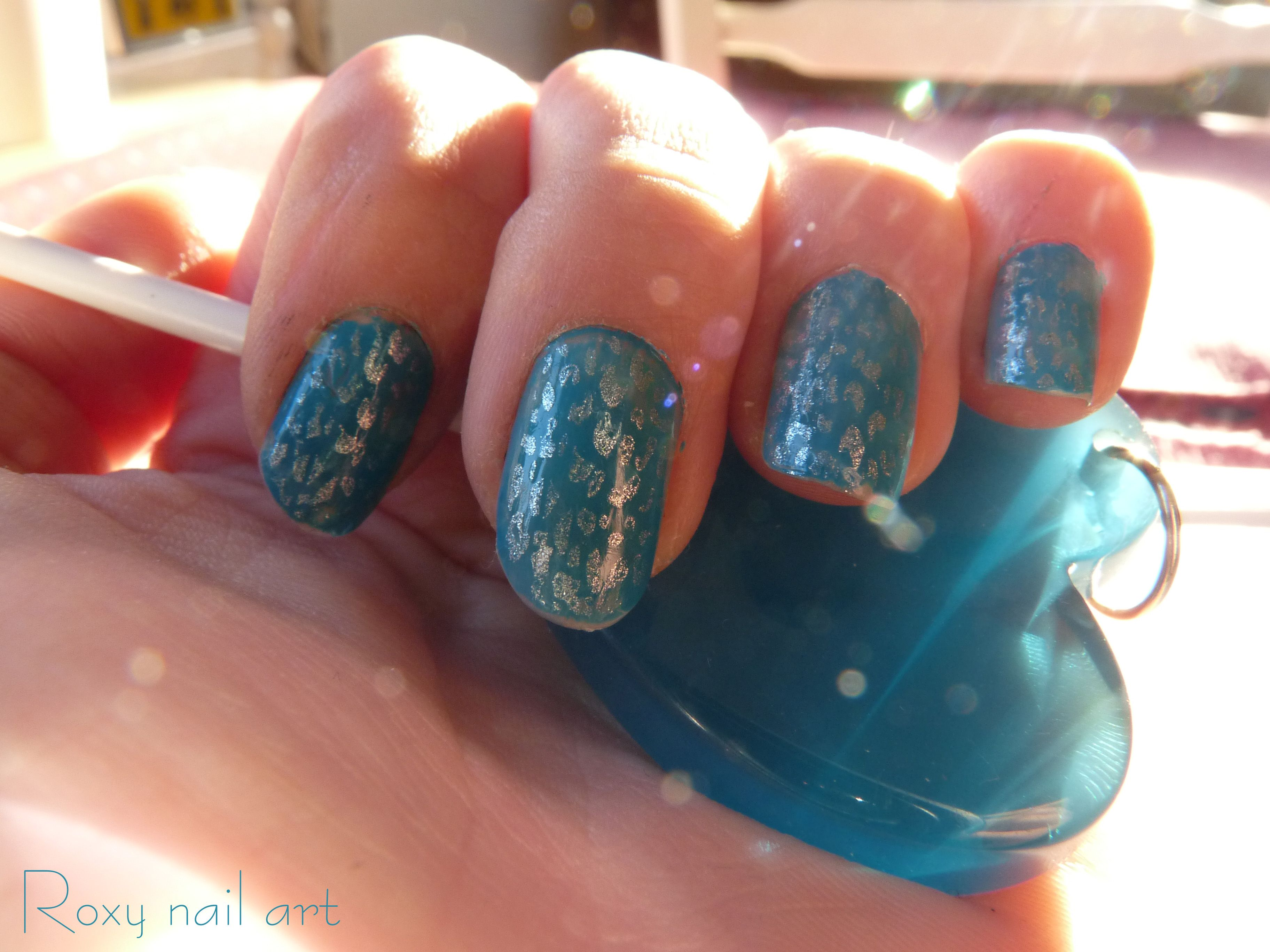my new design my page facebook : roxy nail art | Nails | Pinterest ...