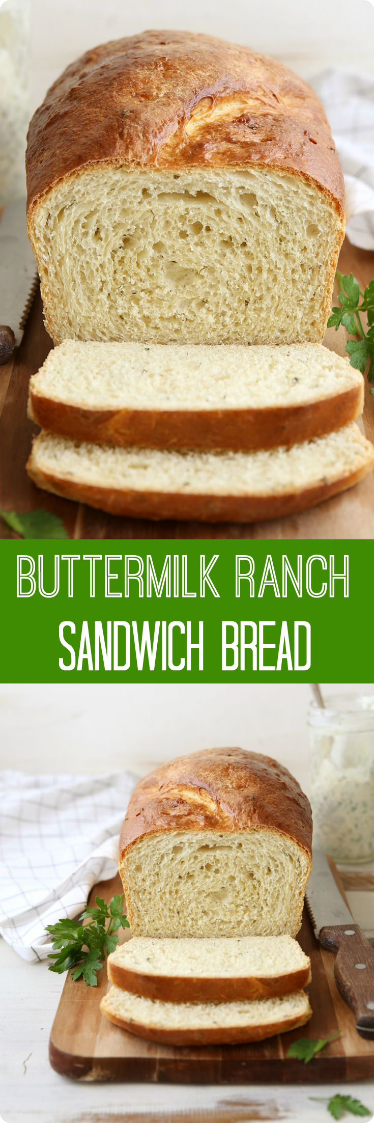Buttermilk Ranch Sandwich Bread Recipe Recipe Sandwich Bread Delicious Bread Recipes