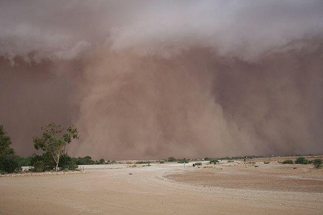Dust Storm Mungerannie South Australia | Dust storm ...