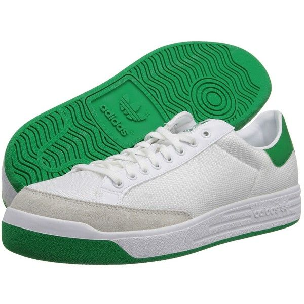 adidas Originals Rod Laver (White/Fairway) Classic Shoes (35.490 CRC) ❤