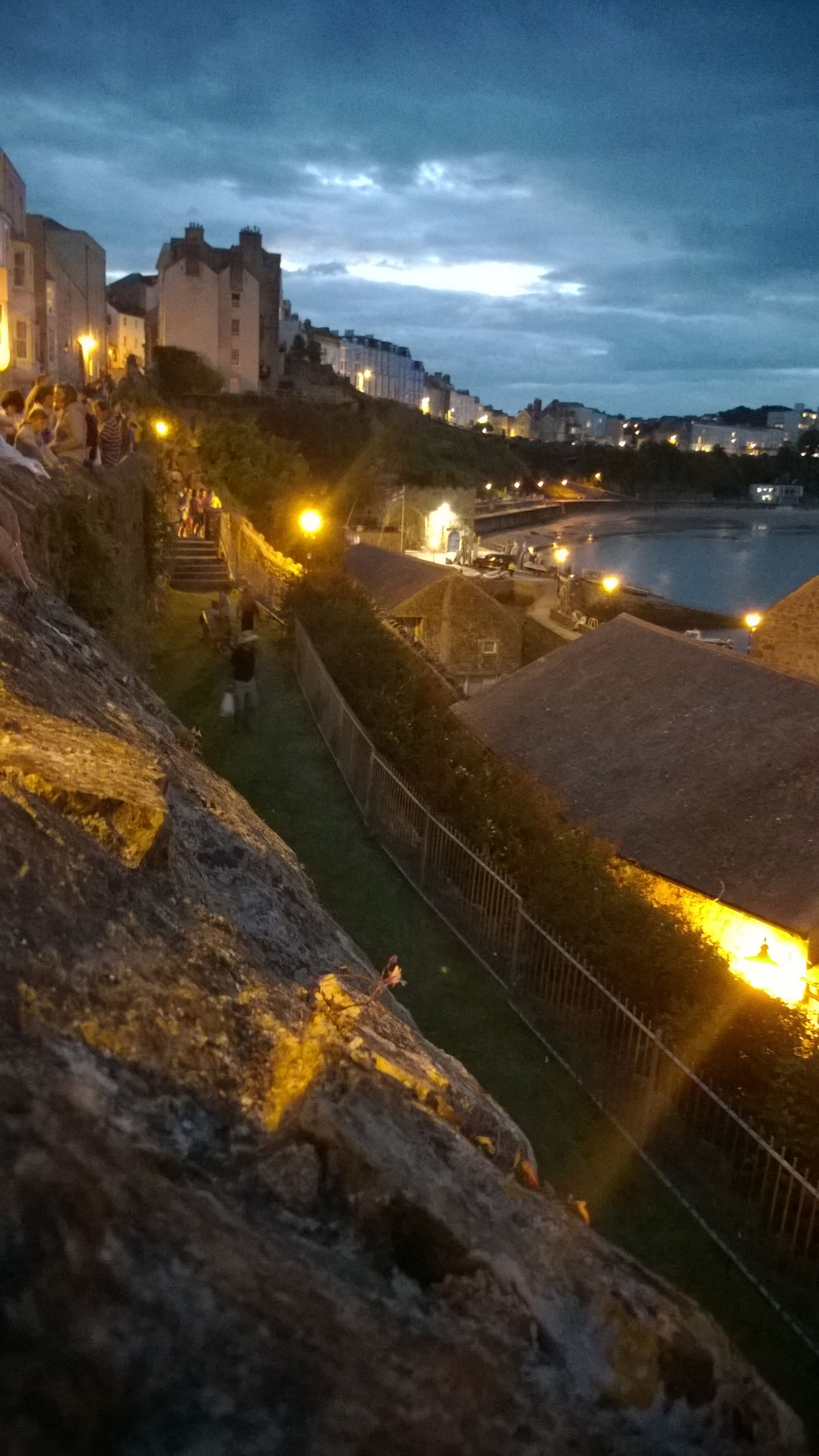 Tenby harbour at night | Wales•Tenby•Home Someday• | Wales