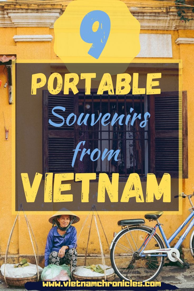 Looking for souvenirs from Vietnam? Here are 9 souvenir ideas that bring Vietnamese culture and tradition around the world with you.