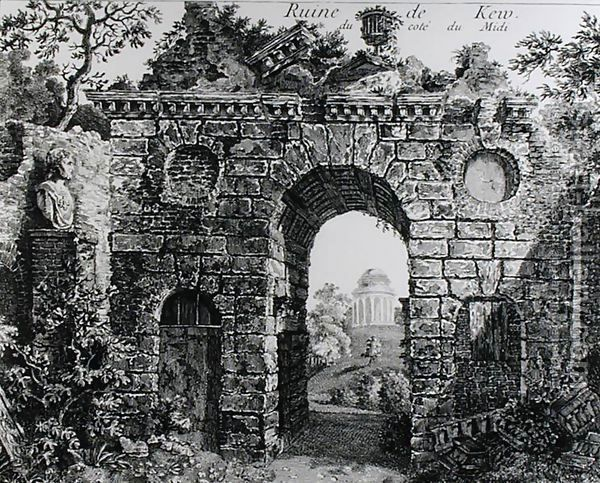 Ruins in the middle of Kew Gardens, 1763 by Sir William Chambers