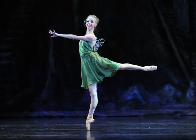 You're sure to have a fairy good Halloween as Tinkerbell from Peter Pan! ~Halloween Costume Ideas from Pittsburgh Ballet Theatre~