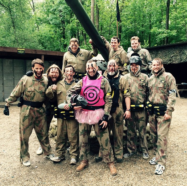 Paintball stag do activity in Carrick on Shannon