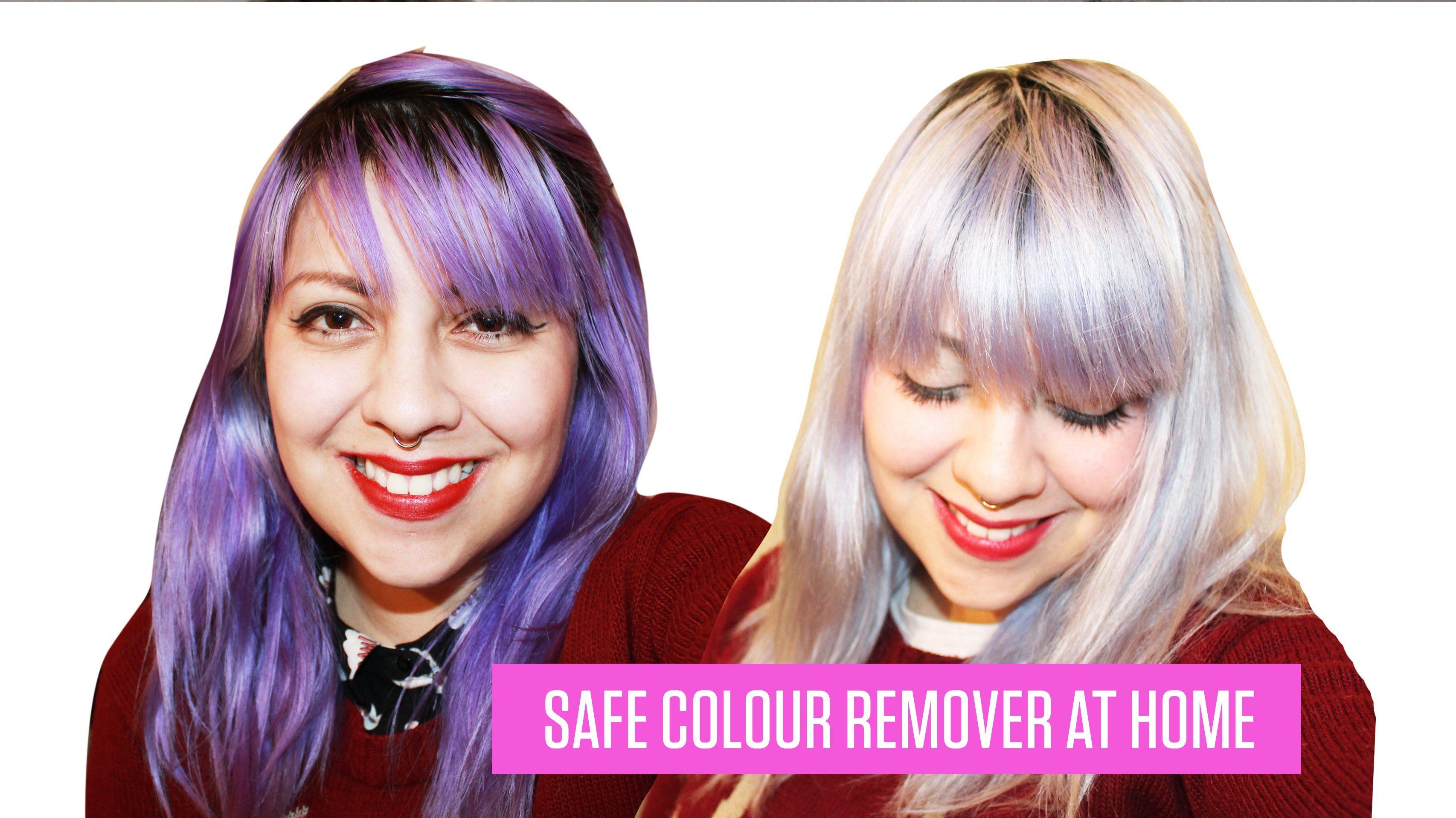 How to remove semi permanent hair dye no bleach semi