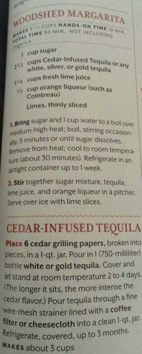 The Woodshed Margarita...for when someone's about to get it! Southern Living Article
