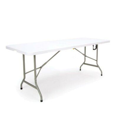Ofm Center Folding Table Size 96 L X 30 W Solid Wood Table