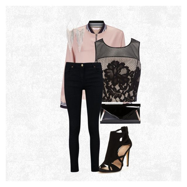 """Unapologetically Perfect"" by pxnkrxckgxrl ❤ liked on Polyvore featuring Miss Selfridge, Jules Smith, Boohoo and Coast"
